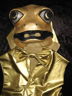 Gold Frog